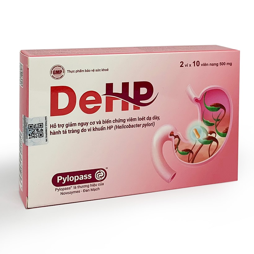Thực phẩm bảo vệ sức khỏe Viên uống kiểm soát HP bảo vệ dạ dày ...