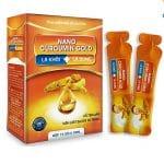 Nano Curcumin Gold - Không còn nỗi lo viêm loét dạ dày, tá tràng