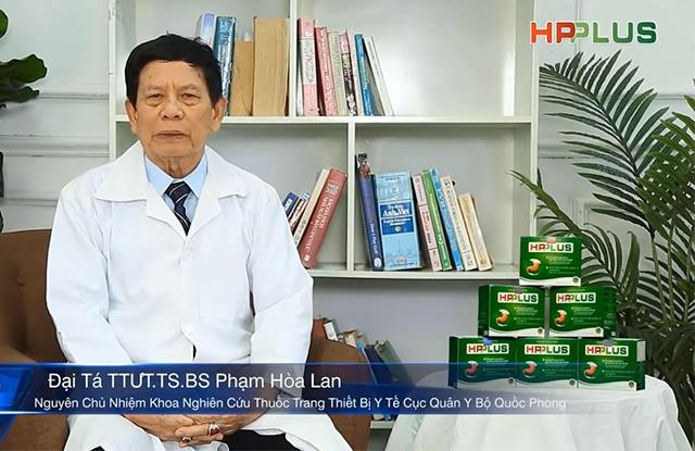 Thầy Thuốc Ưu Tú Phạm Hòa Làn Chia Sẻ Về Dạ Dày HP PLus Trên HTV7