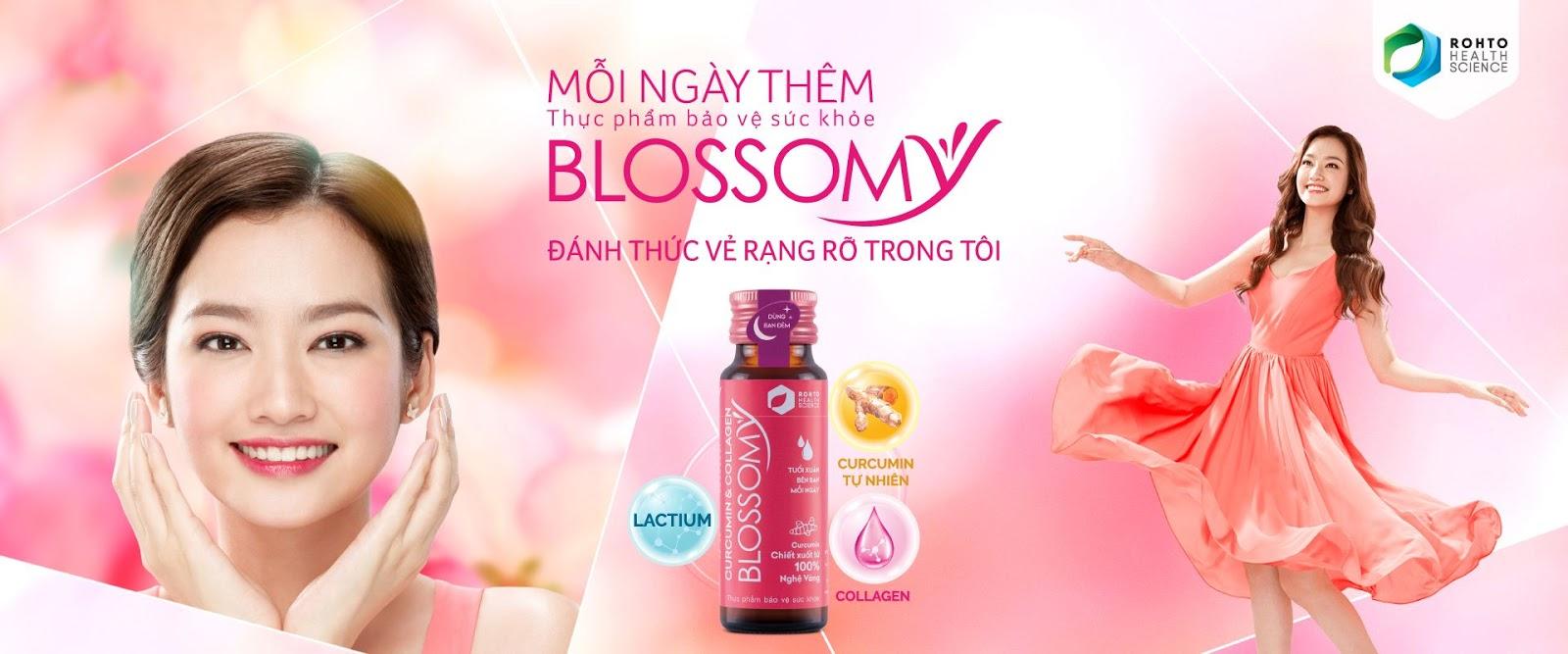 Nước Uống Đẹp Da, Cải Thiện Sức Khỏe Blossomy Curcumin & Collagen ...