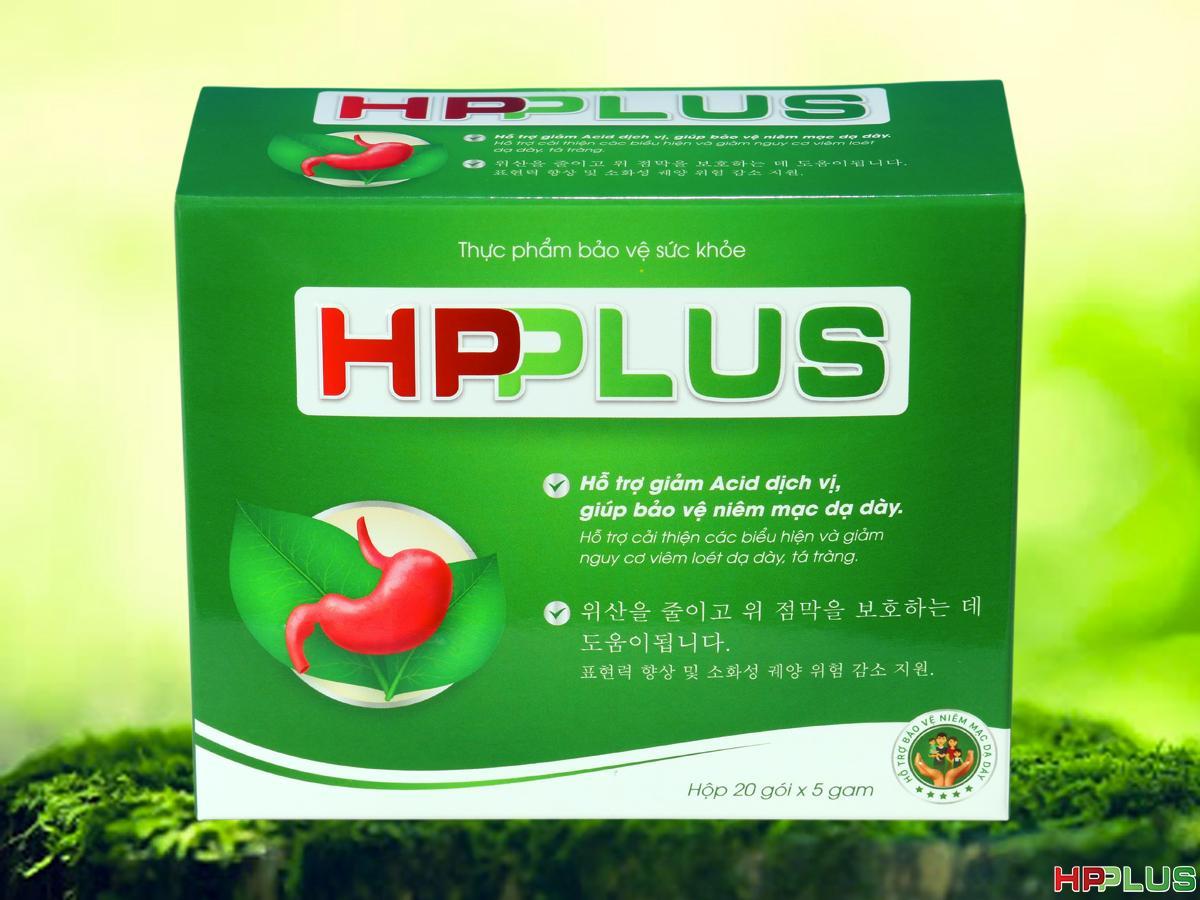 Dạ Dày HP Plus - sản phẩm hỗ trợ bảo vệ niêm mạc dạ dày