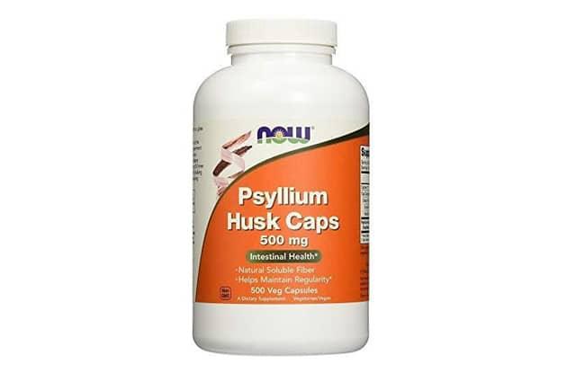 cong dung thuoc da day Now Psyllium Husk