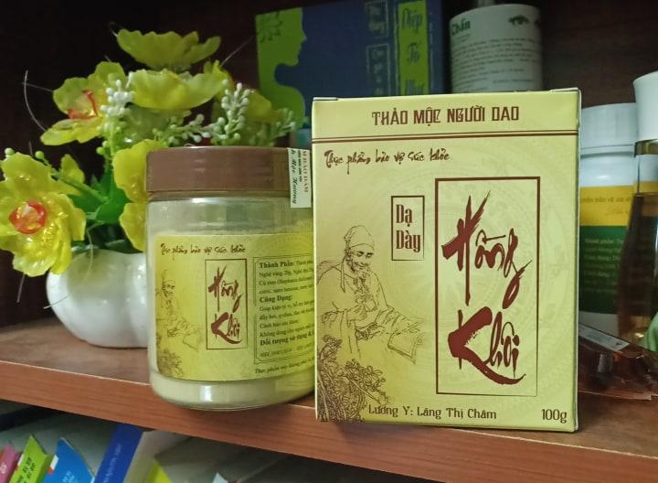 Thảo dược dạ dày Hồng Khôi Thanh Mộc Hương - Nhà thuốc Đông y Gia ...