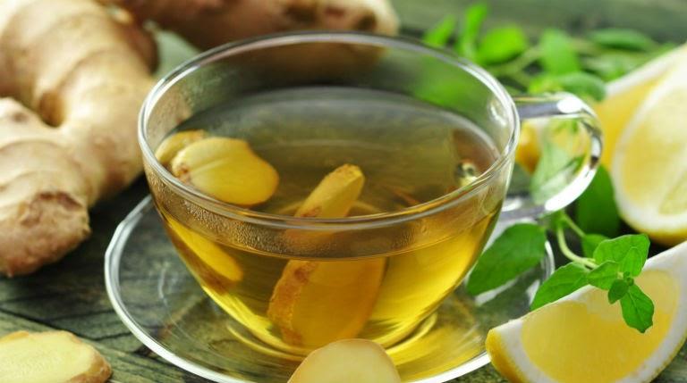 Khi bị đau dạ dày, người bệnh vẫn nên dùng trà gừng với liều lượng vừa phải, bệnh sẽ được cải thiện.