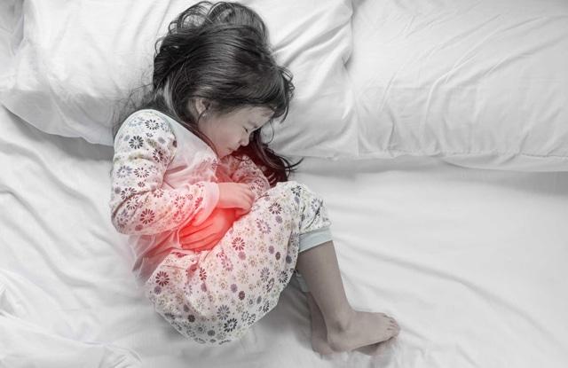 chữa đau dạ dày cho trẻ em
