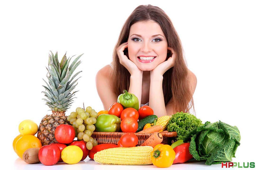 Thiết lập chế độ ăn uống khoa học để ngăn ngừa, điều trị mụn tận ...