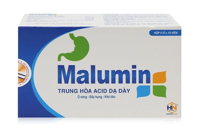 Thuốc dạ dày Malumin