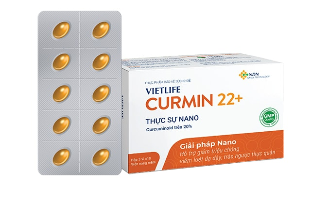 Thuốc dạ dày Vietlife Curmin 22 +