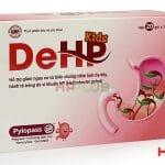 DeHP Kids D005 ngừa nhiễm vi khuẩn HP có thực sự hiệu quả không ?
